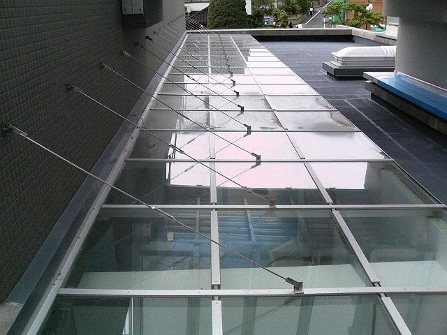 アルミガラス枠トップライト